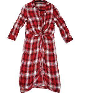 NWT Dex Plaid  dress